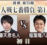 第75期名人戦 佐藤天彦名人vs稲葉陽八段の日程は?中継サイトはココ!