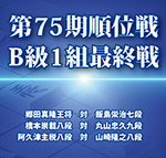 第75期順位戦B級1組最終戦をAbemaTVにて生中継!解説はなんと…