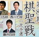 棋聖戦一次予選の藤井聡太四段vs阪口悟五段の棋譜速報と結果