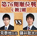 順位戦C級2組 高見泰地五段vs藤井聡太四段の棋譜速報~相矢倉戦~