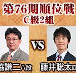 順位戦C級2組 藤井聡太四段vs脇謙二八段の棋譜と結果!相掛かり棒銀