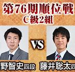 順位戦C級2組 藤井聡太四段と高野智史四段が対局!日程と中継情報