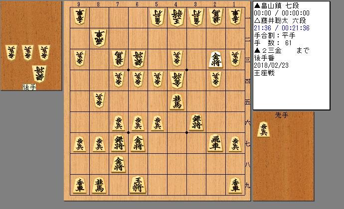 畠山七段vs藤井六段