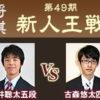 新人王戦 藤井聡太五段vs古森悠太四段の中継と日程情報