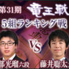 阿部光瑠六段と藤井聡太六段の成績とレーティング!竜王戦5組ランキング戦の日程と中継
