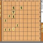 【無料詰将棋問題と解答】9手詰め問題~桂頭の玉寄せにくし~
