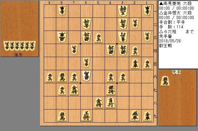 金井六段vs高見六段
