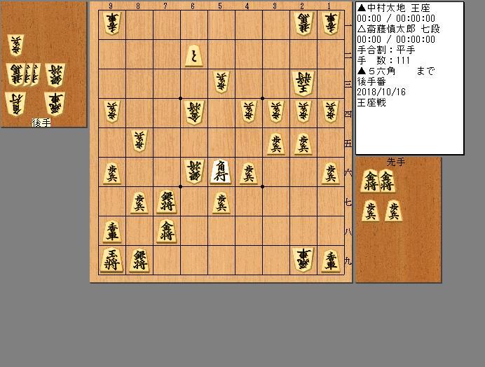 斎藤七段vs中村王座