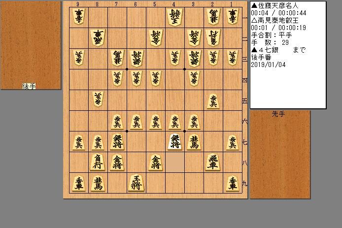 佐藤名人vs高見叡王