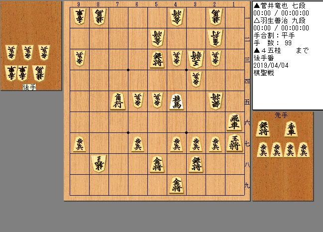 羽生九段vs菅井七段