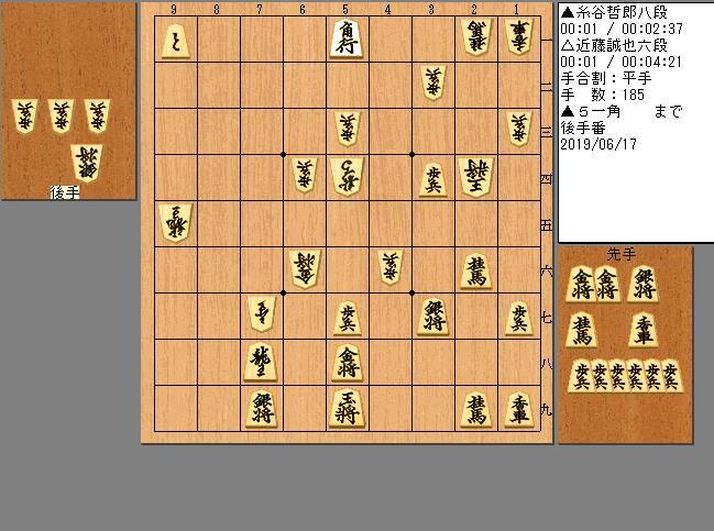 糸谷八段vs近藤六段