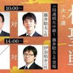 藤井聡太七段の対局予定!vs東和男八段 棋聖戦一次予選の中継