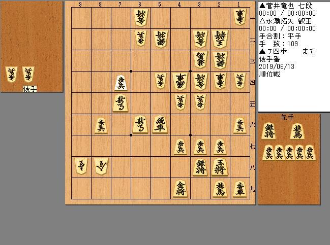 菅井七段vs永瀬叡王