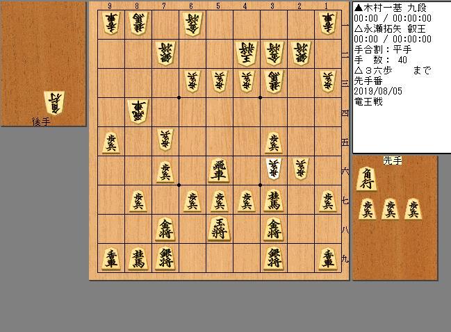 永瀬叡王vs木村九段