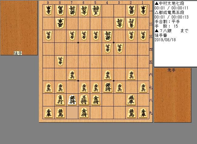中村七段vs都成五段
