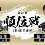 順位戦C級1組 藤井聡太七段vs高橋道雄九段の棋譜速報!矢倉vs居角左美濃急戦
