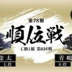 順位戦C級1組 藤井聡太七段vs青嶋未来五段の対局速報