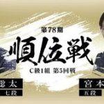 順位戦C級1組 藤井聡太七段vs宮本広志五段の対局速報!中継と日程