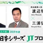 将棋日本シリーズJTプロ公式戦 渡辺明JT杯覇者vs三浦弘行九段の対局速報