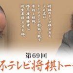 渡辺明三冠vs福崎文吾九段の対局速報!NHK杯将棋トーナメントの中継と日程