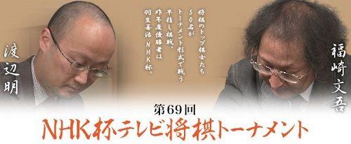 渡辺明三冠vs福崎文吾九段