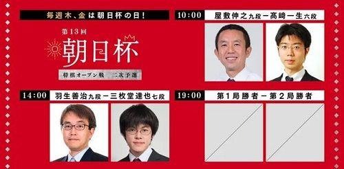 朝日杯将棋オープン戦二次予選