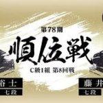 順位戦C級1組 小林裕士七段vs藤井聡太七段の対局速報!中継と日程