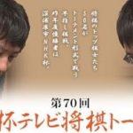 第70回NHK杯テレビ将棋トーナメント 山崎隆之八段vs西川和宏六段の日程と中継