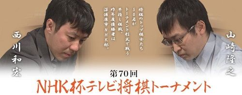 山崎隆之八段vs西川和宏六段