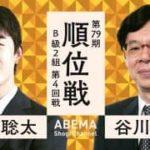 第79期順位戦B級2組 第4回戦 藤井聡太二冠vs谷川浩司九段の対局速報!中継と日程