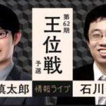 第62期 王位戦 予選 斎藤慎太郎八段vs石川優太四段の対局速報!中継と日程