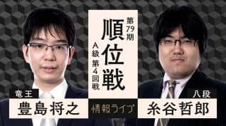豊島将之竜王vs糸谷哲郎八段