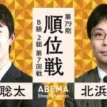 第79期 順位戦 B級2組 第7回戦 藤井聡太二冠vs北浜健介八段の対局速報!中継と日程